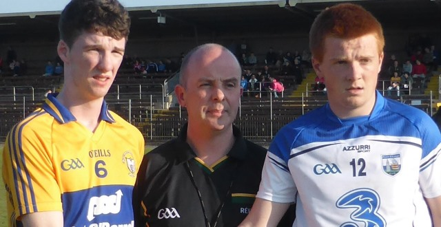 Munster Minor Football 2nd Playoff – Waterford 6-9 Clare 4-12