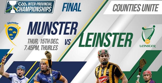 GAA Inter-Provincial Hurling Final – Munster 2-20 Leinster 2-16