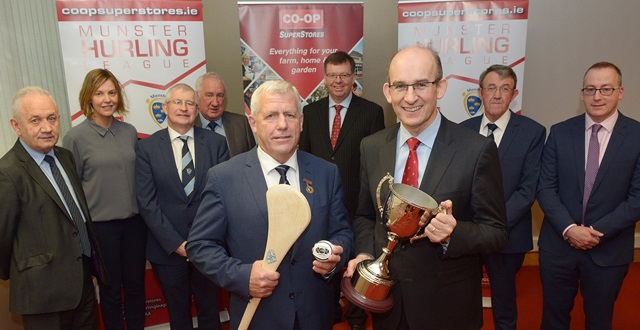 2017 Co-Op Superstores Munster Hurling League Launched