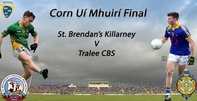 Corn Ui Mhuiri Final – St. Brendan's 2-20 Tralee CBS 0-11