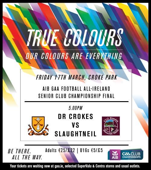 AIB All-Ireland Club Senior Football Championship Final – Dr. Crokes (Kerry) 1-9 Slaughtneil (Derry) 1-7