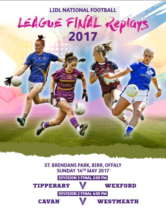 Lidl Ladies NFL Division 3 Final Replay – Tipperary 0-15 Wexford 1-10