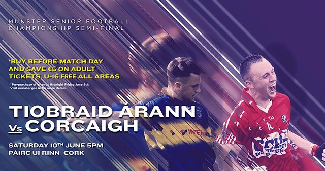 Munster Senior Football Semi-Final – Cork 1-10 Tipperary 1-9