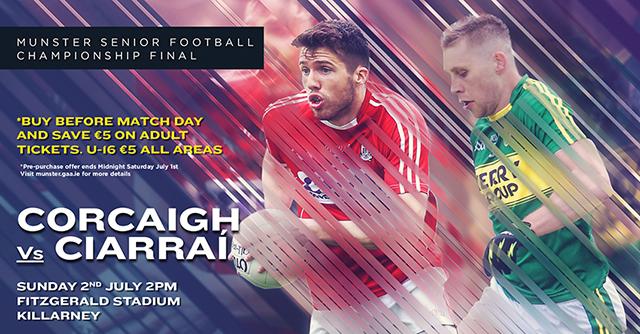 Munster Senior Football Final – Kerry 1-23 Cork 0-15