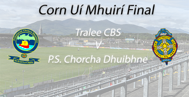 Corn Ui Mhuiri Final – P.S.C.D. 2-13 Tralee CBS 1-10