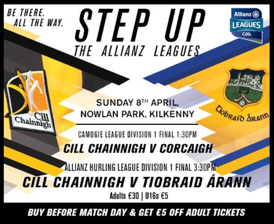 Allianz Hurling League Division 1 Final – Kilkenny 2-23 Tipperary 2-17