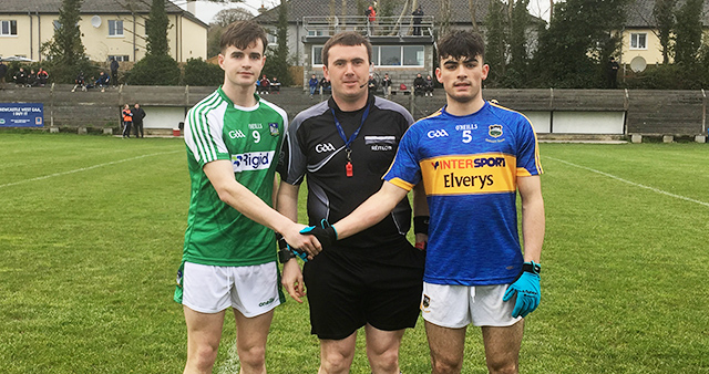 Munster MFC S-Final Playoff 1 – Tipperary 2-12 Limerick 1-11
