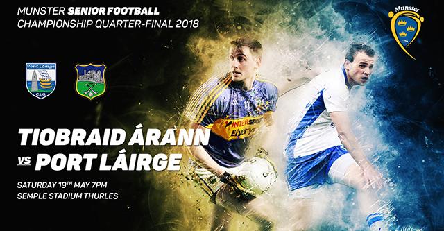 Munster Senior Football Q-Final – Tipperary 0-20 Waterford 0-9