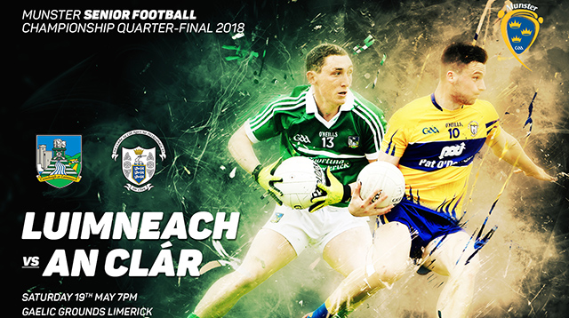 Munster Senior Football Q-Final – Clare 1-23 Limerick 0-14
