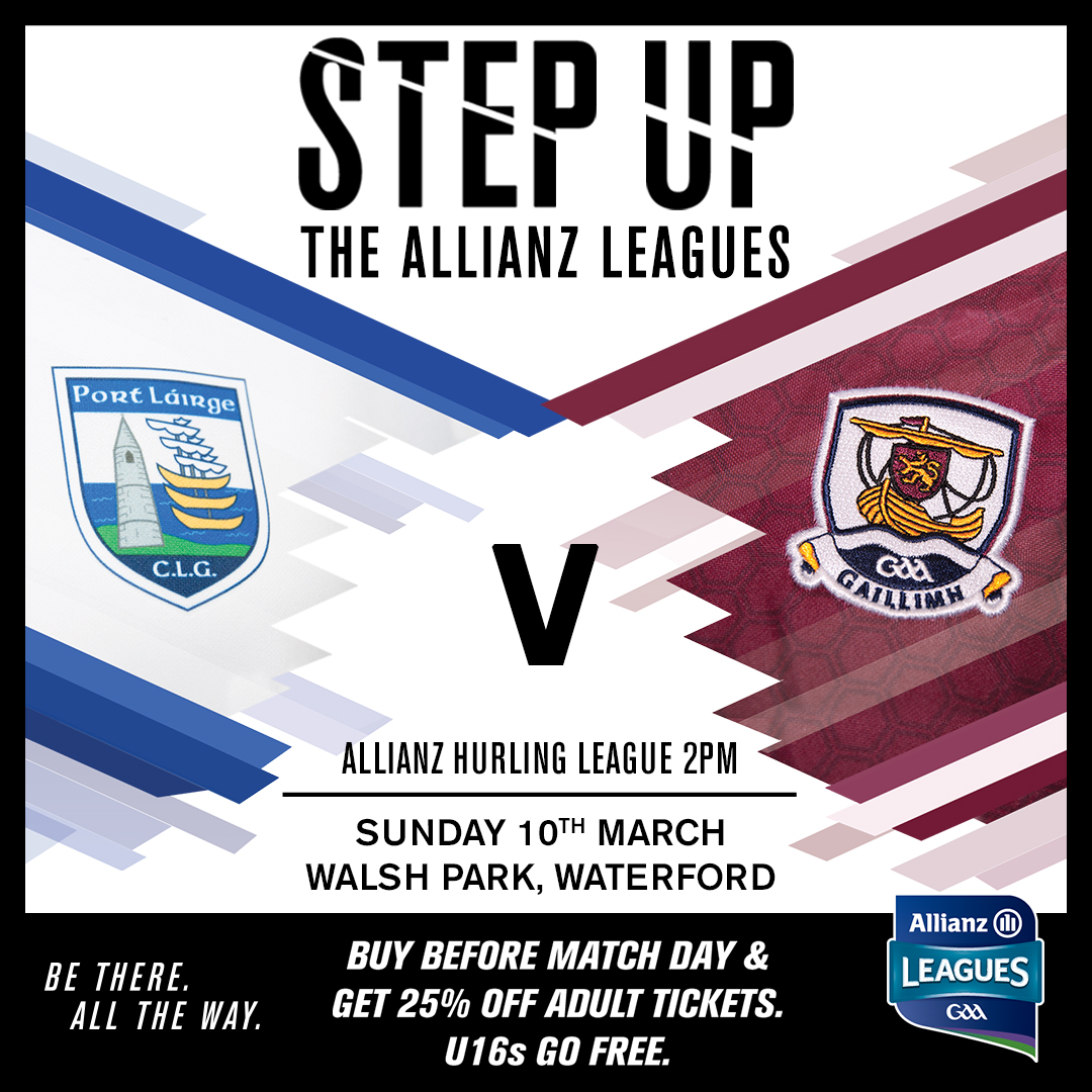 Allianz Hurling League Division 1B – Waterford 1-18 Galway 2-13