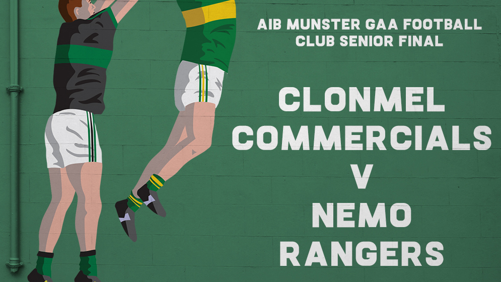 2019 AIB Munster Club Senior Football Championship Final – Nemo Rangers (Cork) 0-15 Clonmel Commercials (Tipperary) 0-6