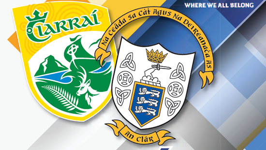 2019 Electric Ireland Munster Minor Football Championship Phase 2 – Kerry 1-16 Clare 0-11