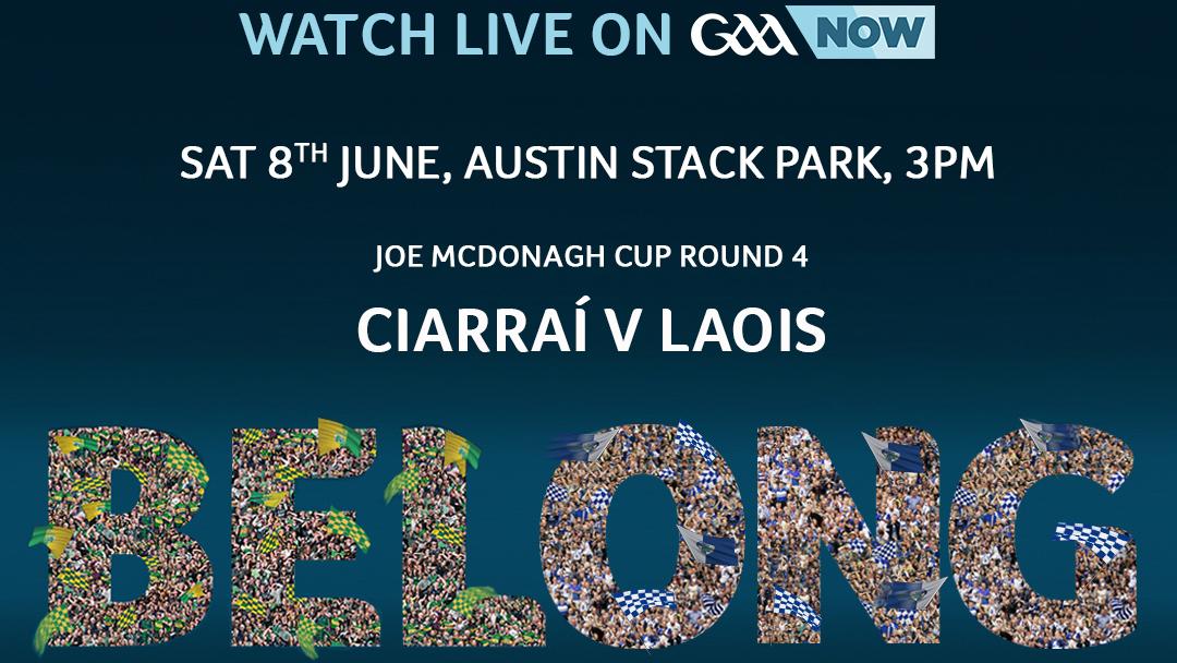 2019 Joe McDonagh Cup Hurling – Laois 5-17 Kerry 1-21