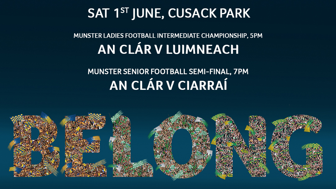 2019 Munster Senior Football Championship Semi-Final – Kerry 1-15 Clare 0-12