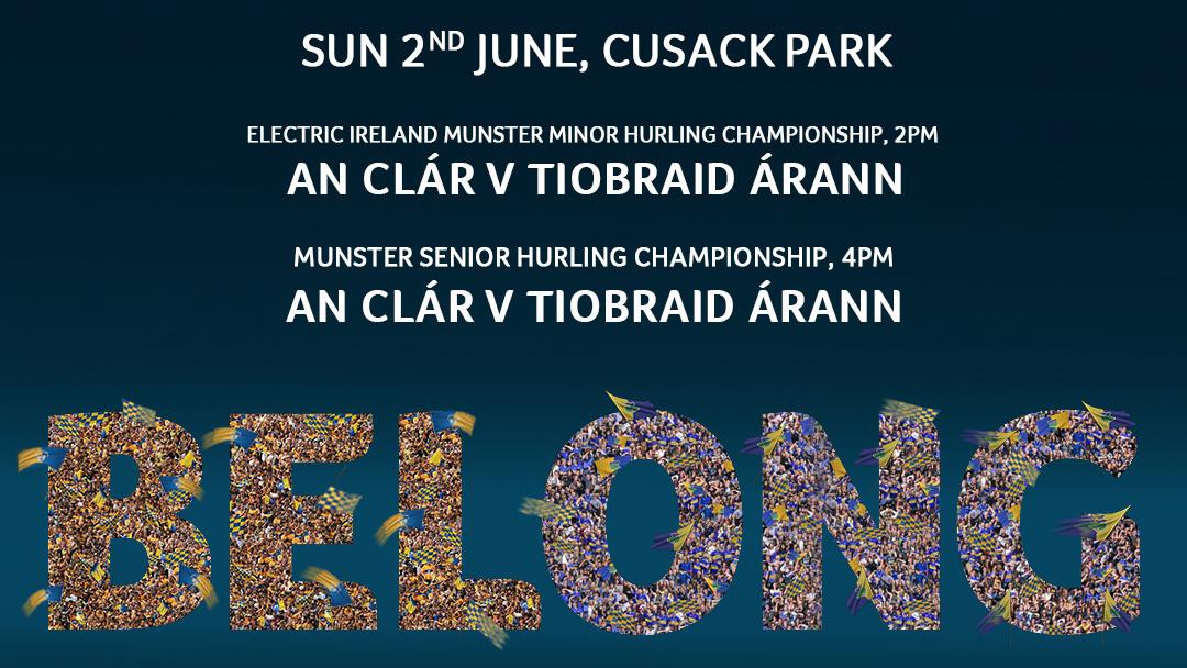 2019 Munster Senior Hurling Championship – Tipperary 3-21 Clare 0-17