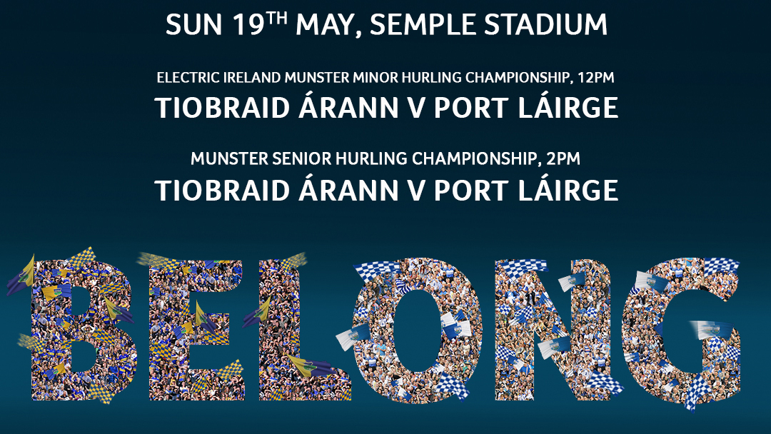 2019 Munster Senior Hurling Championship – Tipperary 2-30 Waterford 0-18