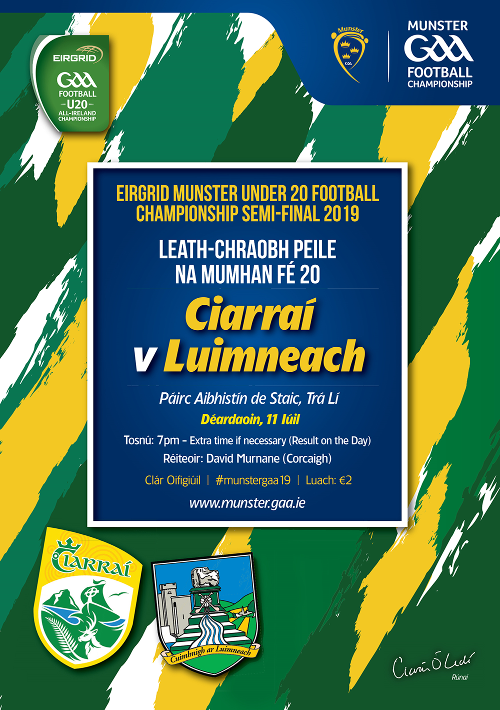Saturdays Limerick v Waterford AHL match to throw-in at 17.30