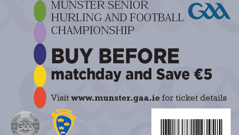 Munster GAA Ticket Update – June 10th 2019