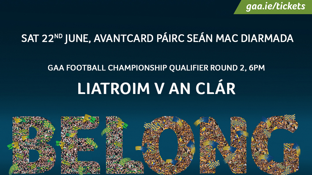 GAA Football All-Ireland Senior Championship Round 2 – Clare 3-17 Leitrim 0-17