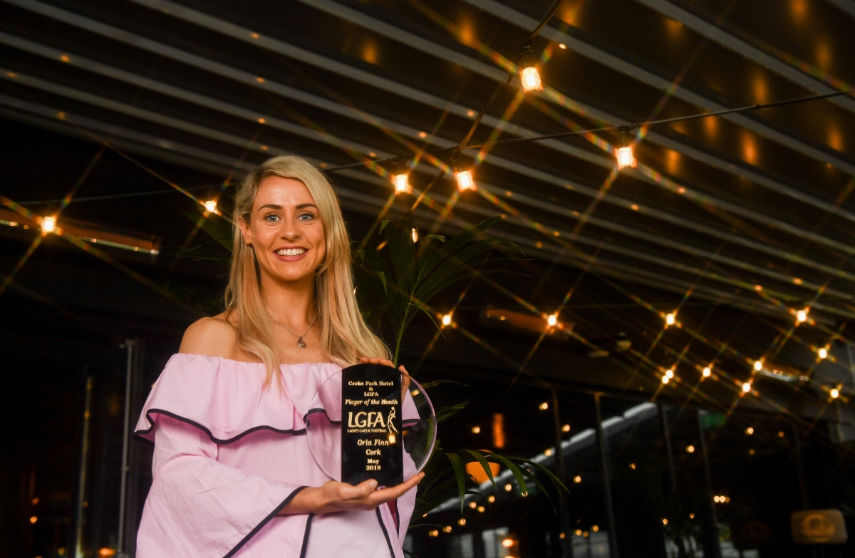 Cork's Orla Finn is The Croke Park/LGFA Player of the Month for May