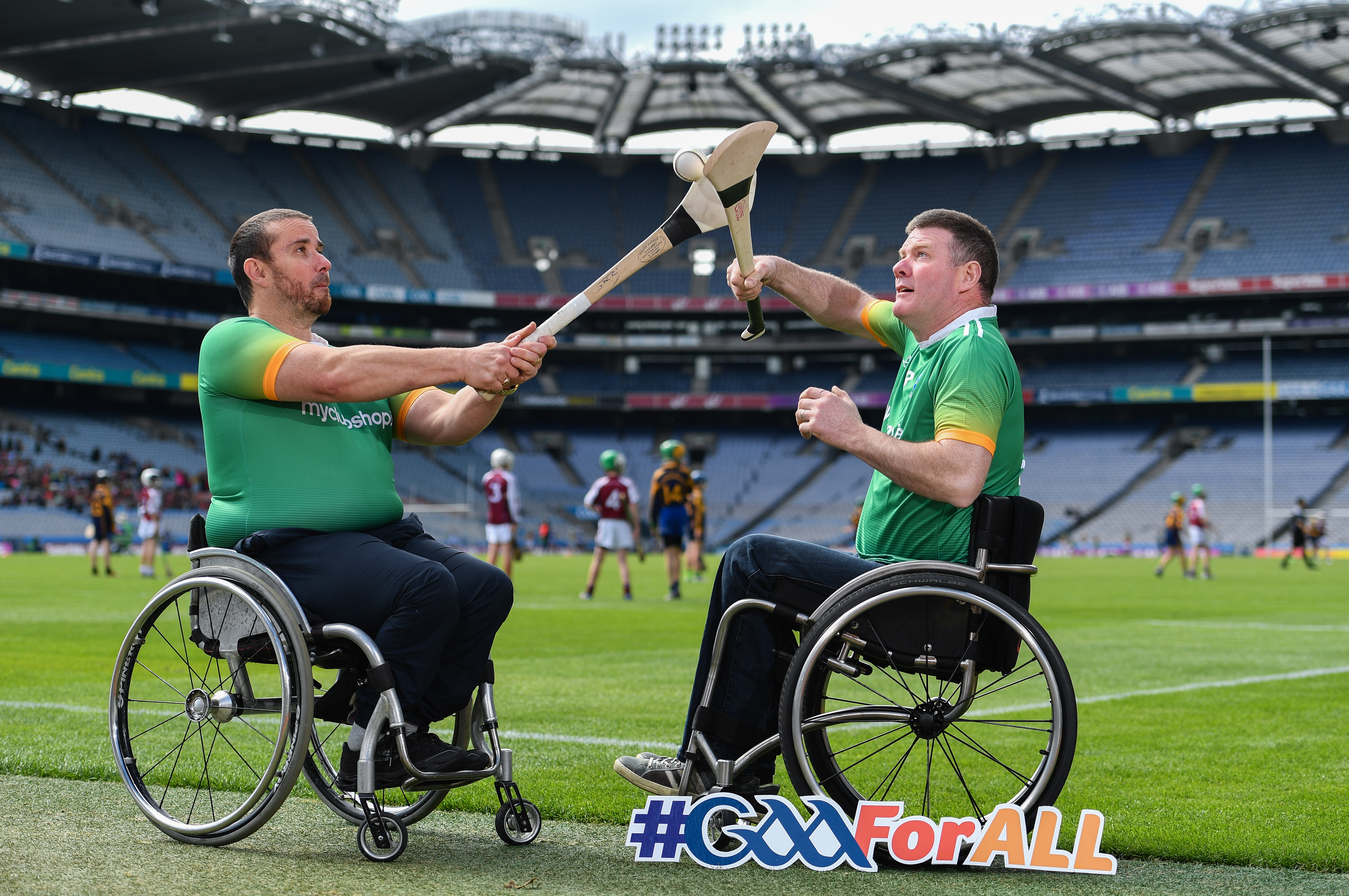 Ireland Wheelchair Hurling Launch