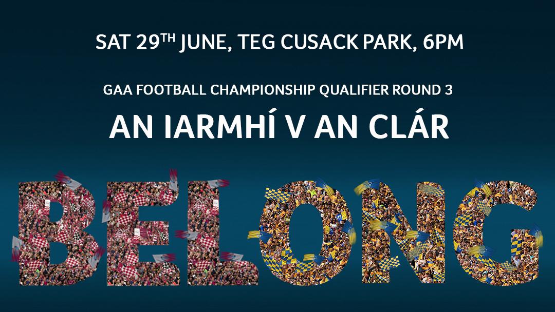 2019 GAA Football All-Ireland Senior Championship Round 3 – Clare 1-13 Westmeath 0-15