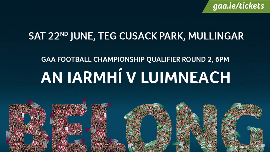 GAA Football All-Ireland Senior Championship Round 2 – Westmeath 2-13 Limerick 1-10