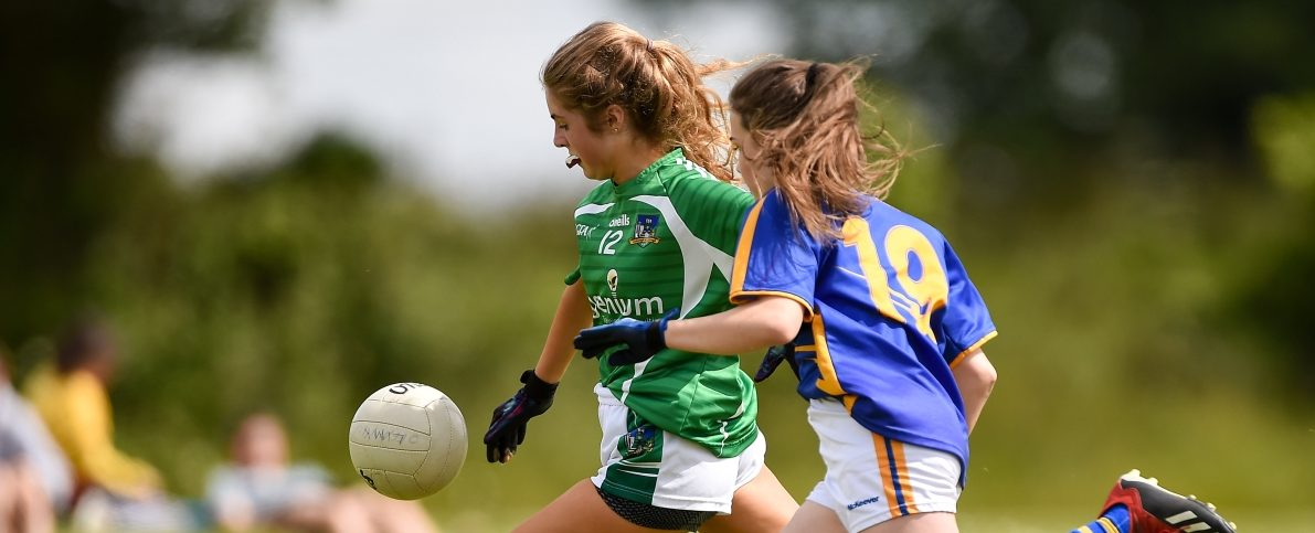All-Ireland Ladies Football Under 14 Silver Final – Limerick v Tipperary