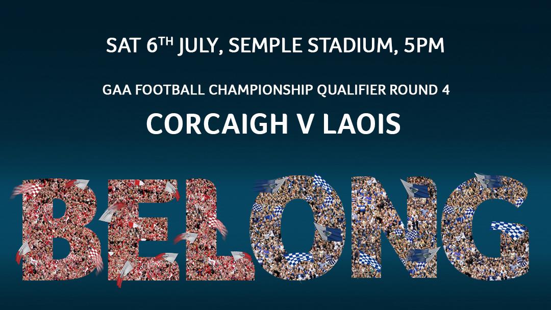 2019 GAA Football All Ireland Senior Football Championship Round 4 – Cork 4-20 Laois 1-15