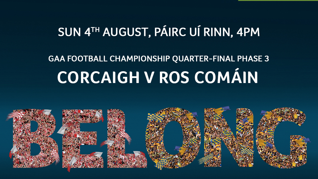 2019 GAA Football All-Ireland Senior Championship Quarter-Final Group 2 Phase 3 – Roscommon 4-9 Cork 3-9