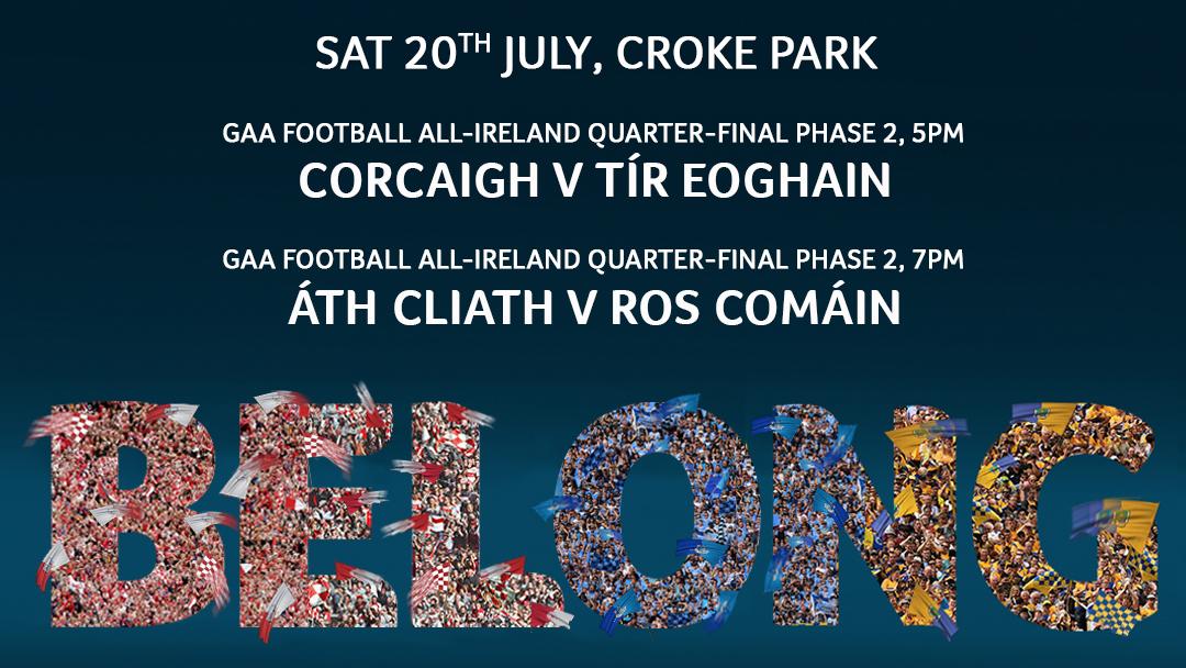 2019 GAA Football Senior All Ireland Championship Group 2 Phase 2 – Cork v Tyrone