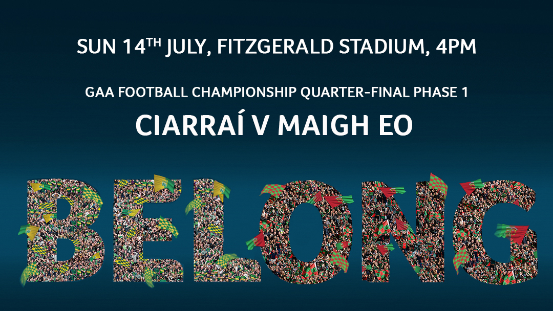 2019 GAA Football Senior All Ireland Championship Group 1 Phase 1 – Kerry 1-22 Mayo 0-15