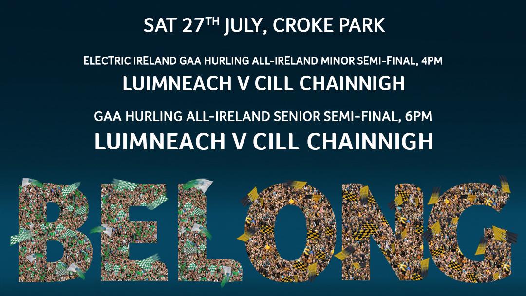 2019 Electric Ireland GAA Hurling All-Ireland Minor Championship Semi-Final – Kilkenny 2-24 Limerick 0-18