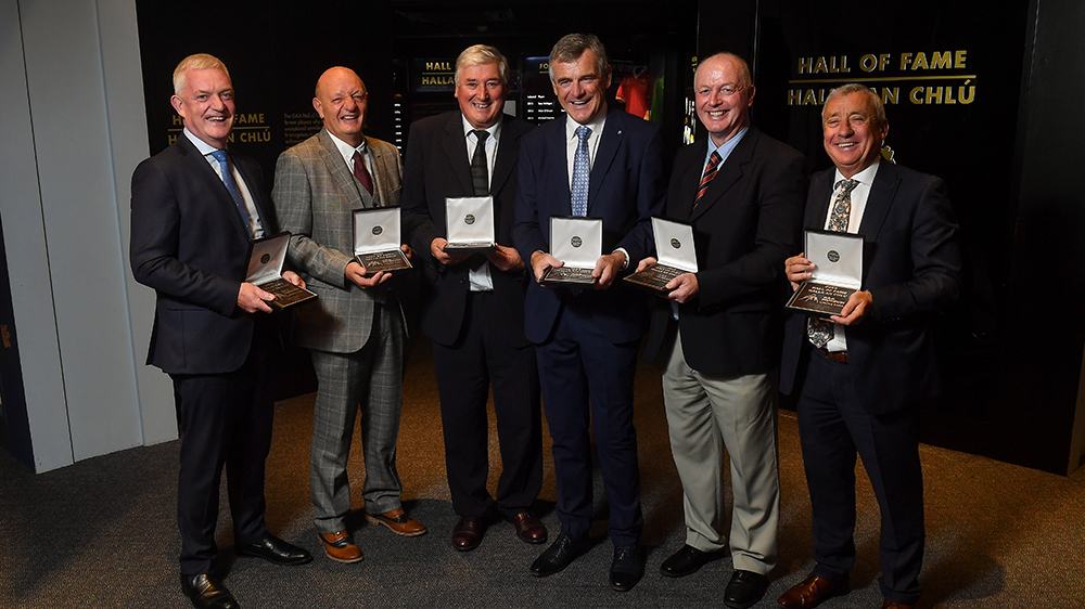 GAA Museum honours Hurling & Football Legends with 2019 Hall of Fame Awards
