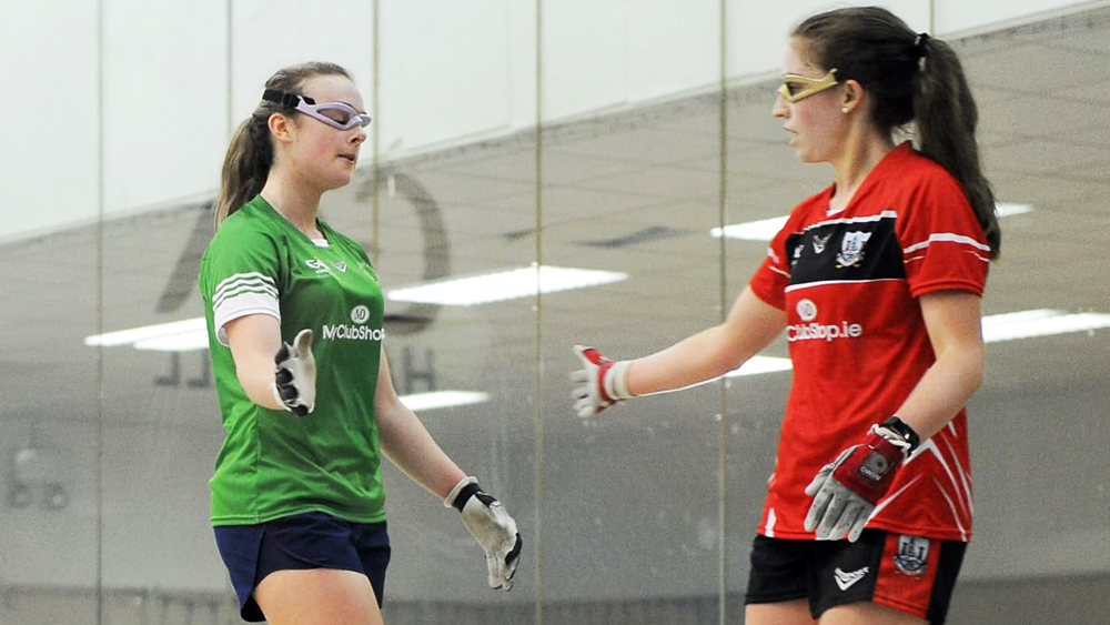 2019 GAA Handball – All-Ireland Softball Ladies Final – Martina McMahon (Limerick) v Caitriona Casey (Cork) – Report