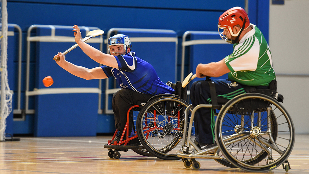 2019 M. Donnelly GAA Wheelchair Hurling Inter-Provincial League Round 4