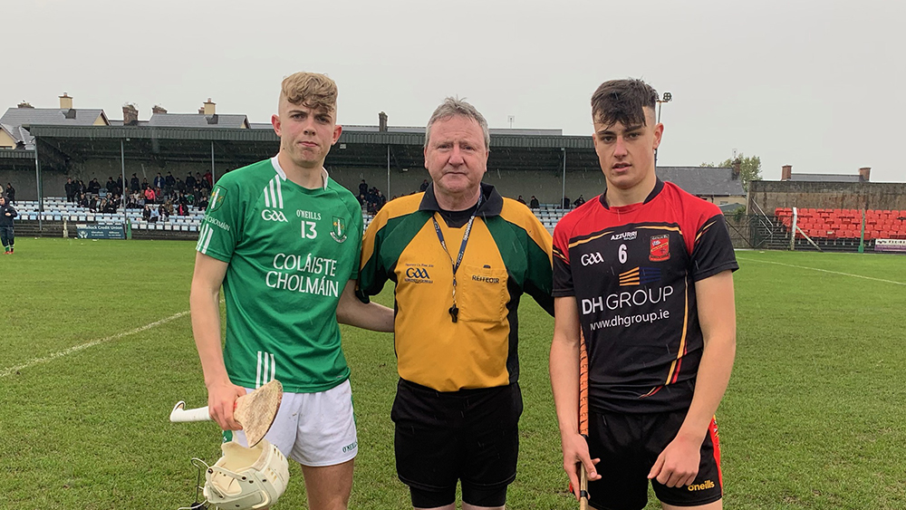 2019 / 2020 Dean Ryan Cup (Under 16.5 A Hurling) Final – Coláiste Cholmáin Fermoy 0-14 Ardscoil Rís Limerick 1-10