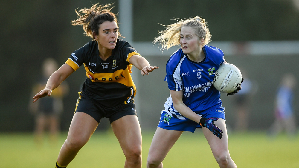 2019 Munster Ladies Football Senior Championship Final – Mourneabbey (Cork) 2-18 Ballymacarbry (Waterford) 4-8
