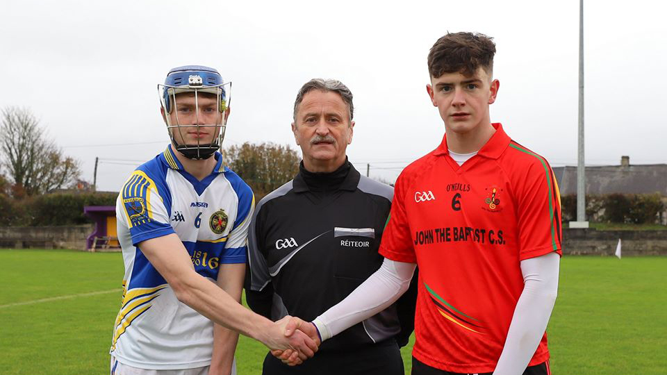 2019/2020 Dr. Harty Cup Group A Round 2 – Thurles CBS 2-28 John the Baptist Hospital 0-13
