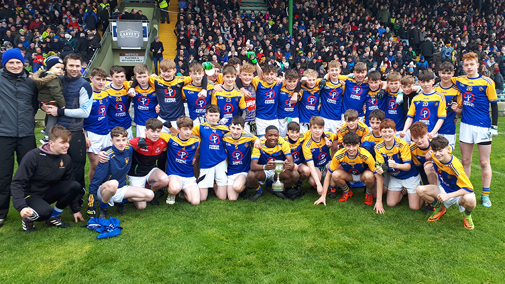 2019/2020 Corn an Bhráthair Choilm Taft (Under 15 A Football) Final – St. Mary's CBS Tralee 3-9 St. Brendan's Killarney 1-8