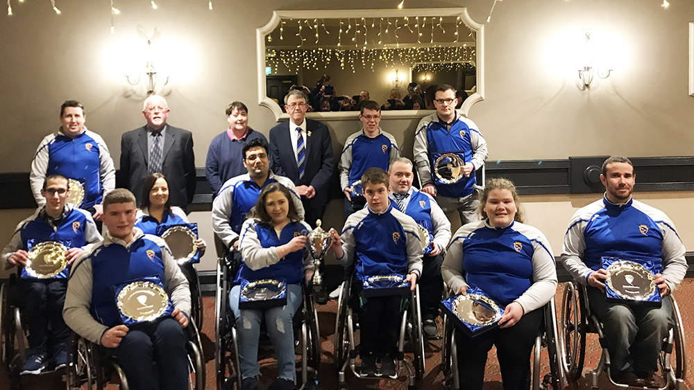 Munster Wheelchair Hurlers – 2019 All-Ireland Champions