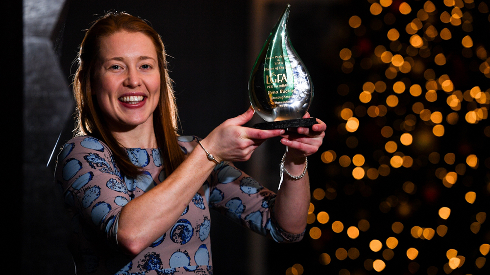 Donoughmore's Rena Buckley is The Croke Park/LGFA Player of the Month for November