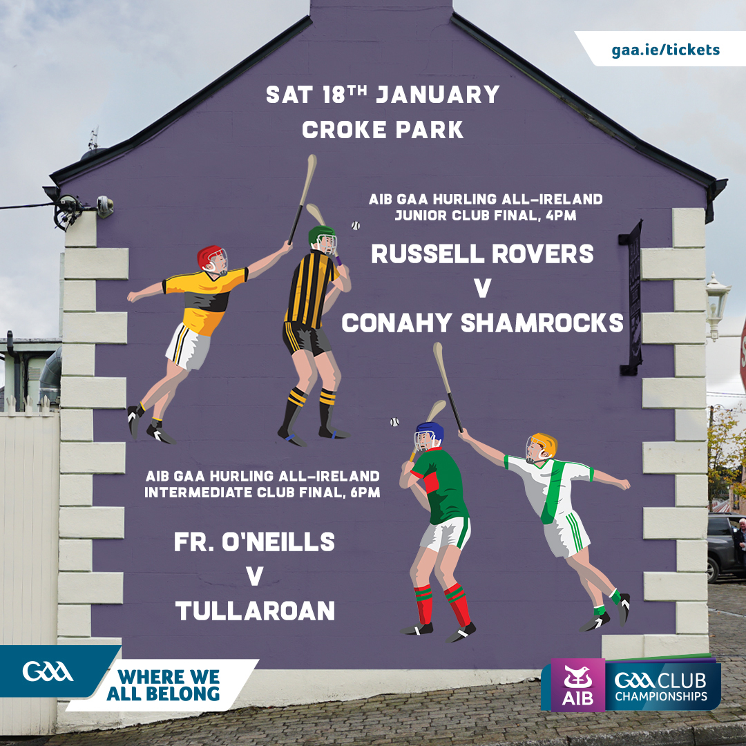 2020 AIB GAA Hurling All-Ireland Intermediate Club Championship Final – Tullaroan (Kilkenny) 3-19 Fr. O'Neills (Cork) 5-12