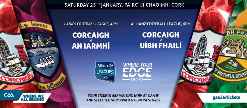 2020 Allianz Football League Division 3 – Cork 0-20 Offaly 0-13