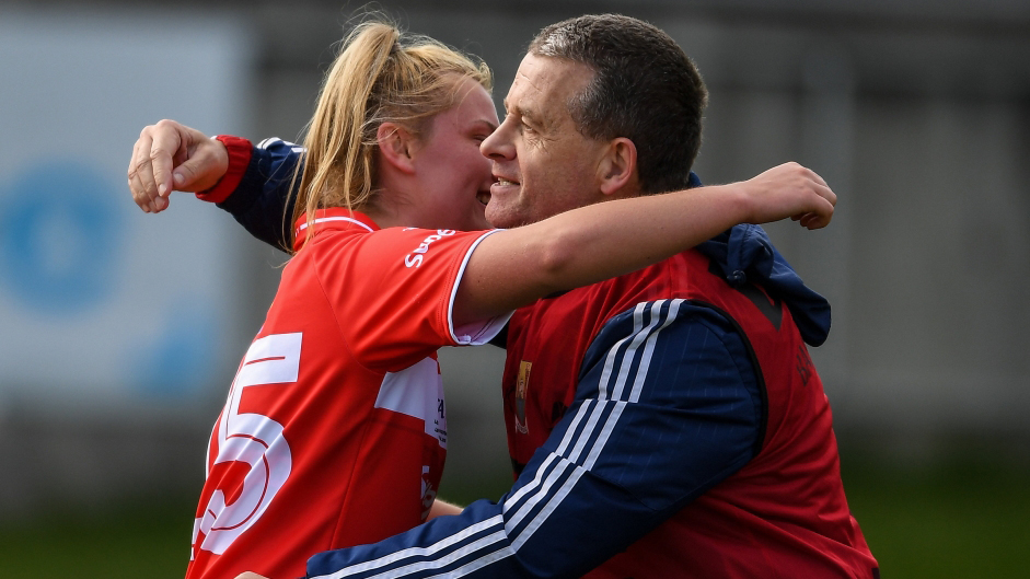 I'd hope that we will be closer this year, we're in it to win it, not to make up the numbers.' – Cork manager Ephie Fitzgerald