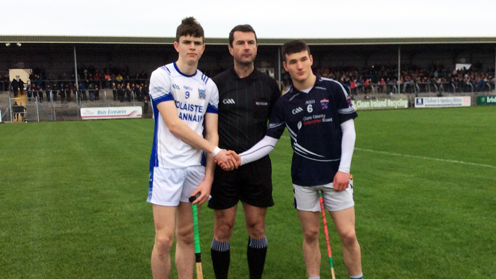 Watch: Dr. Harty Cup Hurling Quarter-Final – St. Flannans Ennis 3-17 St. Joseph's Tulla 0-16