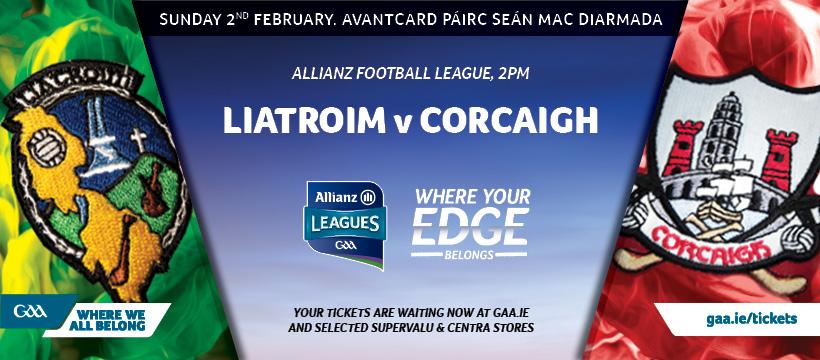 2020 Allianz Football League Division 3 – Cork 1-15 Leitrim 0-9