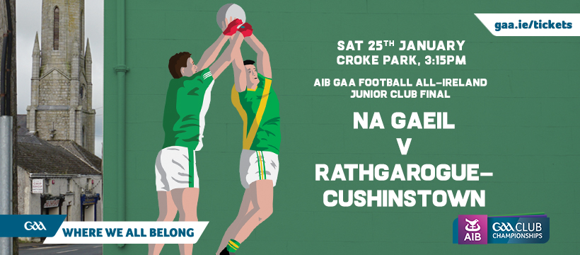 2020 All-Ireland Junior Club Football Final – Na Gaeil v Rathgarogue Cushinstown