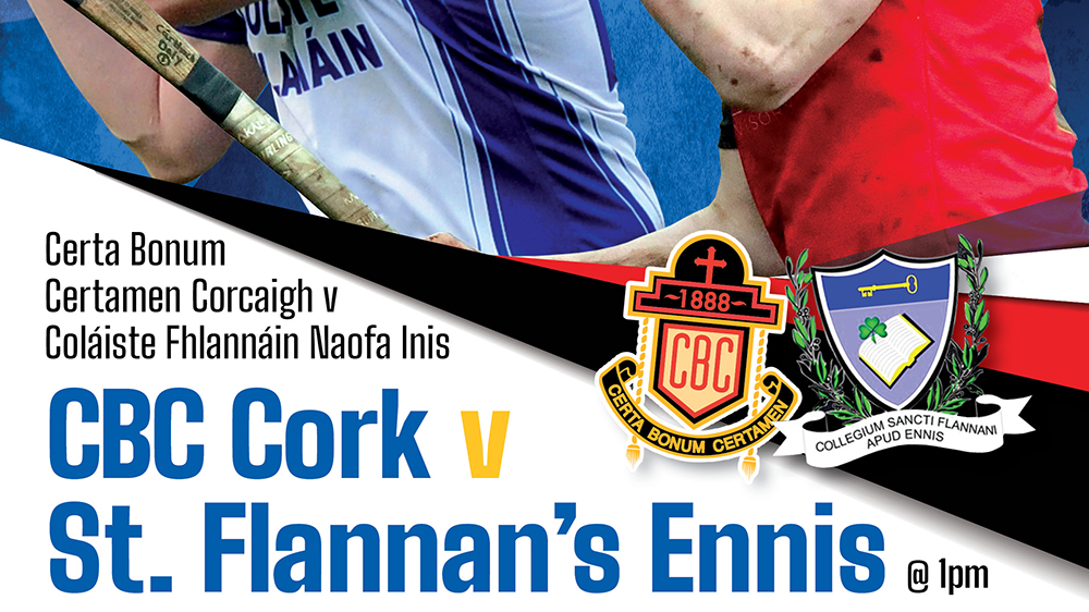 2019 / 2020 Dr. Harty Cup Final – St. Flannans Ennis 1-15 CBC Cork 1-12