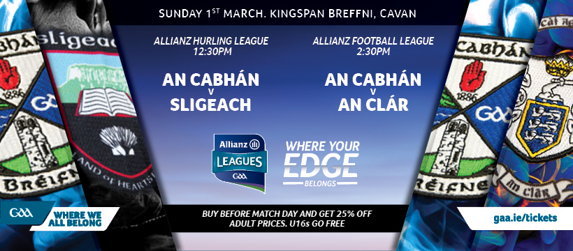 2020 Allianz Football League Division 2 – Clare 1-14 Cavan 0-15